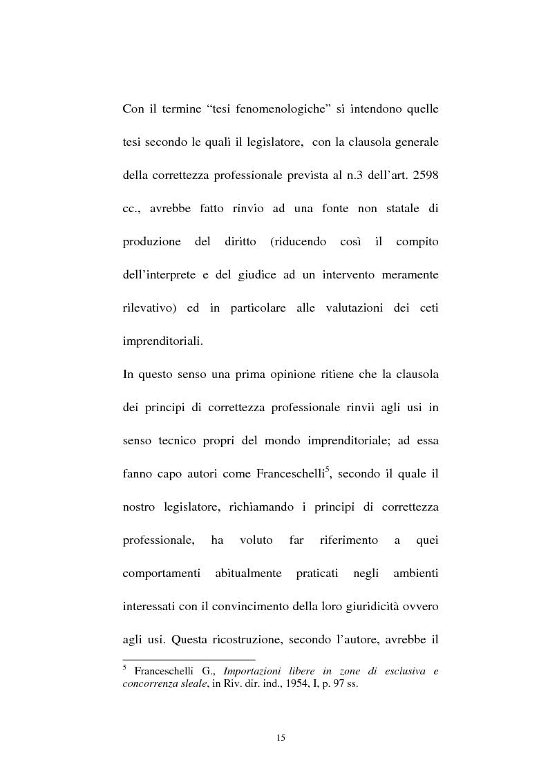 Anteprima della tesi: La vendita sottocosto come fattispecie atipica di concorrenza sleale, Pagina 13