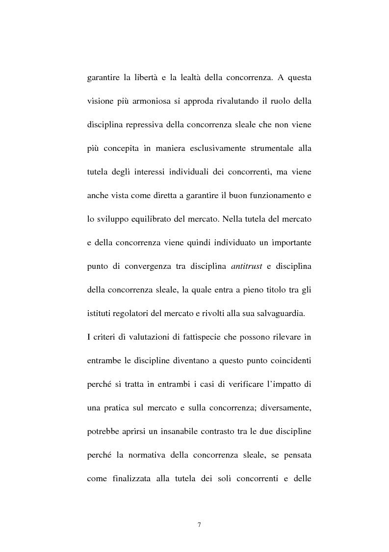 Anteprima della tesi: La vendita sottocosto come fattispecie atipica di concorrenza sleale, Pagina 5