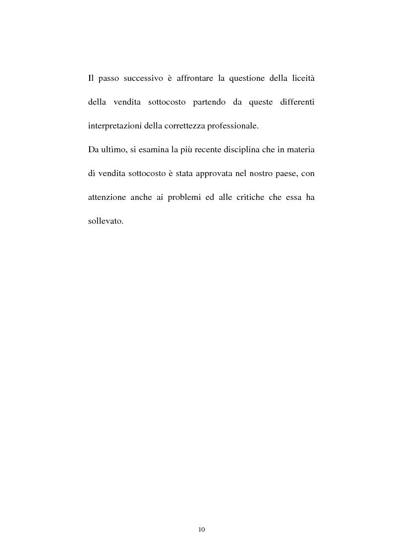 Anteprima della tesi: La vendita sottocosto come fattispecie atipica di concorrenza sleale, Pagina 8