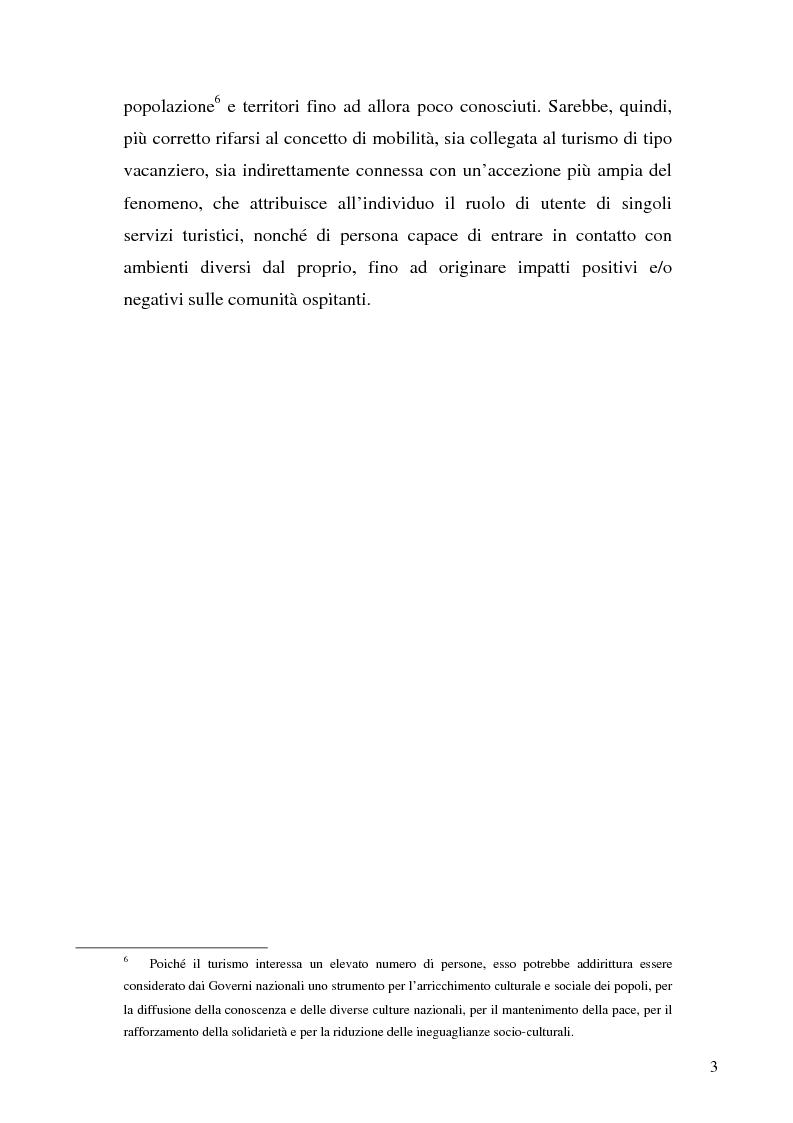 Anteprima della tesi: Il ruolo dell'organizzazione turistica pubblica per la competitività del sistema turistico europeo, Pagina 3