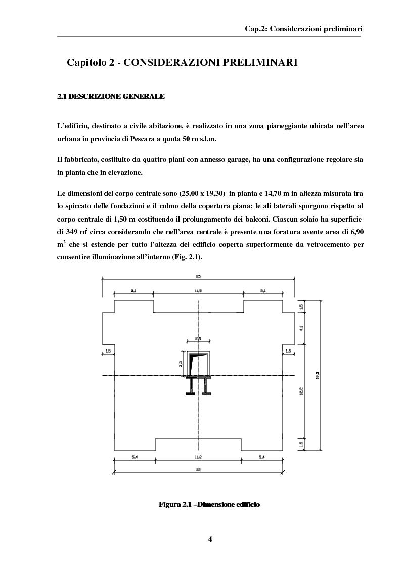 Anteprima della tesi: La modellazione del nucleo ascensore nella progettazione di un edificio intelaiato di cemento armato, Pagina 4