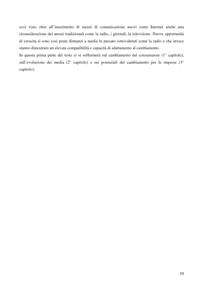 Anteprima della tesi: Le potenzialità promozionali del settore radiofonico, Pagina 6