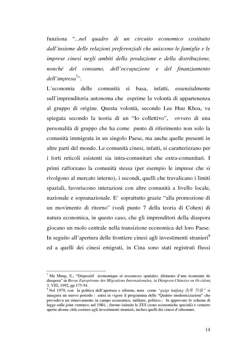 Anteprima della tesi: Comunità cinesi: analisi nell'area barese, Pagina 11