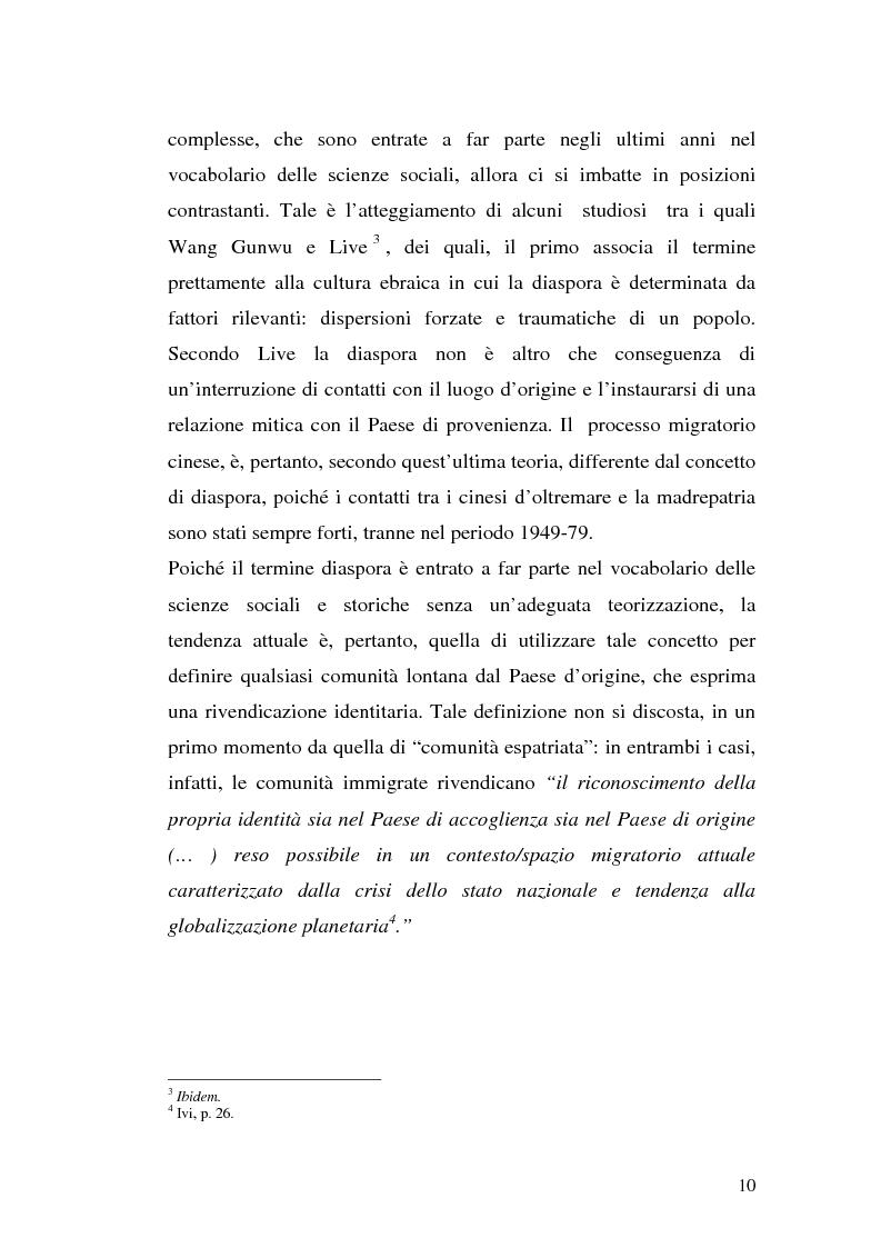Anteprima della tesi: Comunità cinesi: analisi nell'area barese, Pagina 7