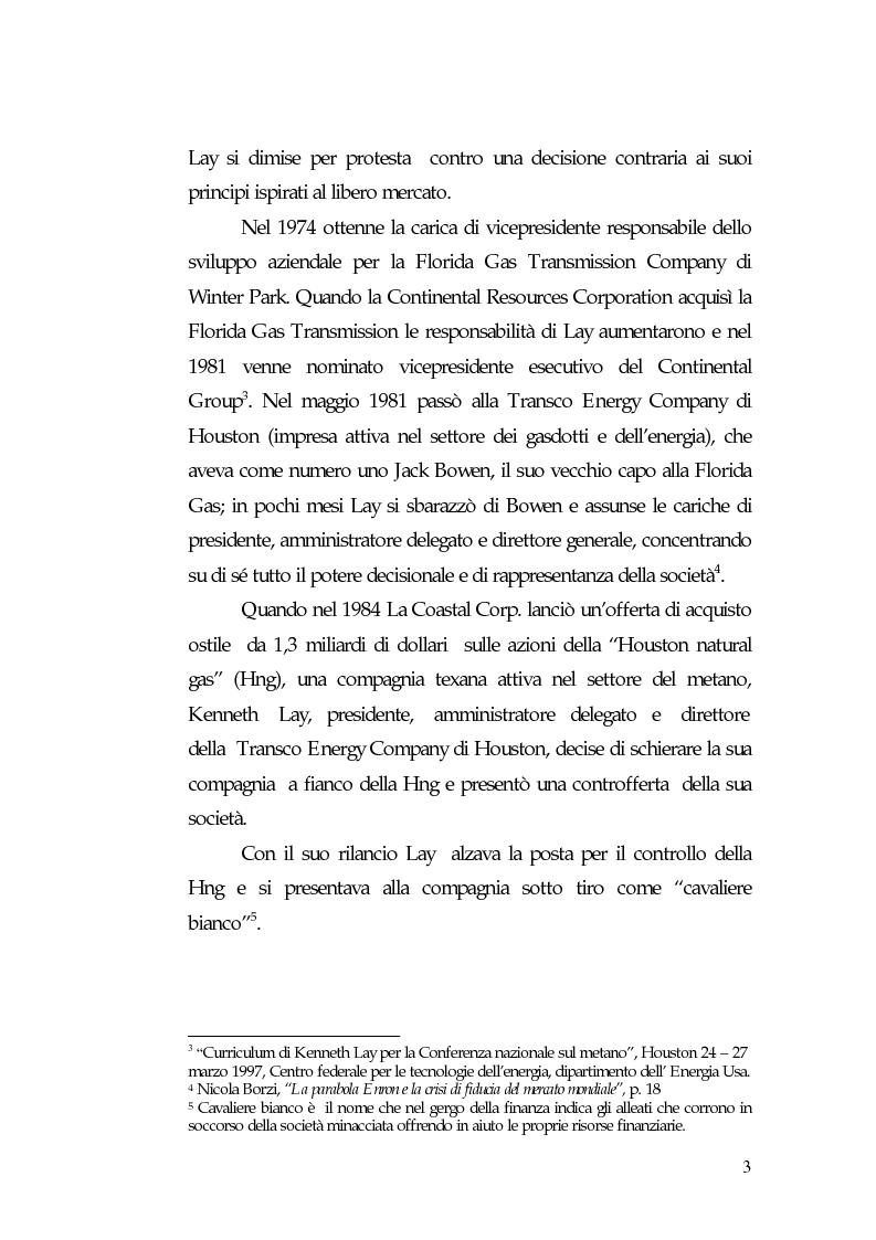 Anteprima della tesi: Principi di governance negli Usa: il caso Enron, Pagina 5