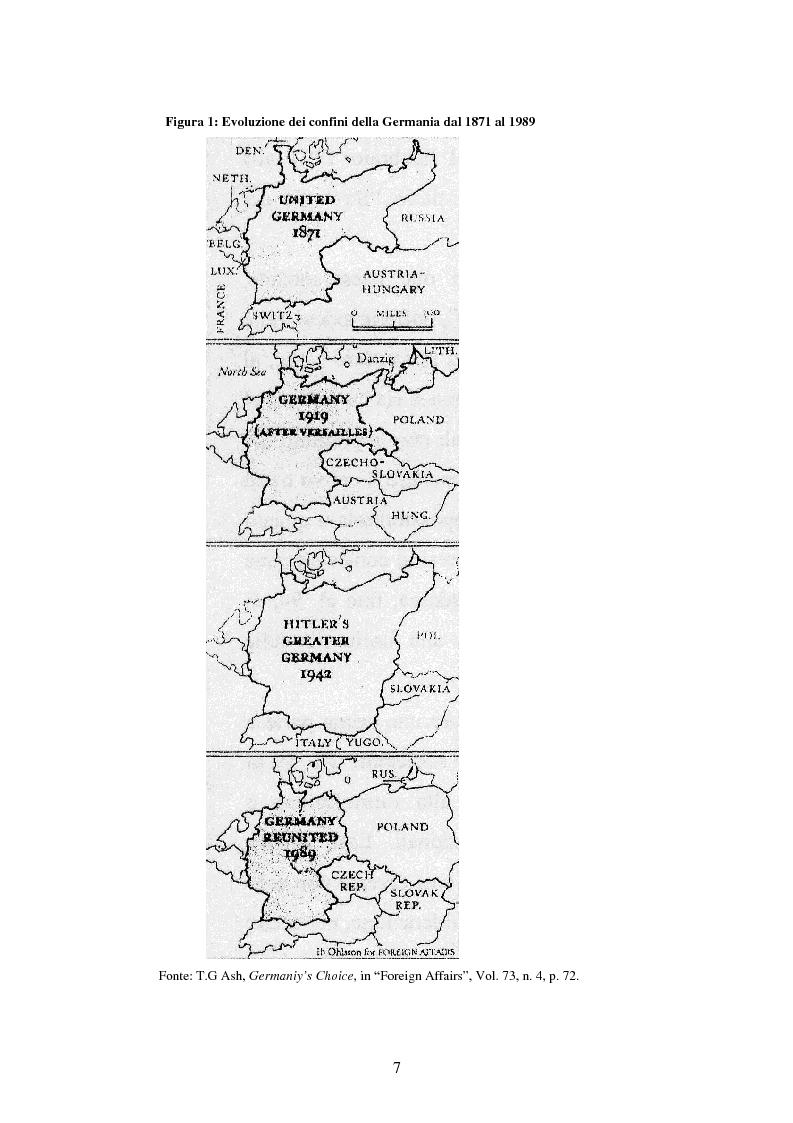 Anteprima della tesi: Le relazioni tedesco-russe negli anni 1989-1994. Dall'unificazione tedesca al ritiro delle truppe sovietiche dalla Germania orientale, Pagina 3