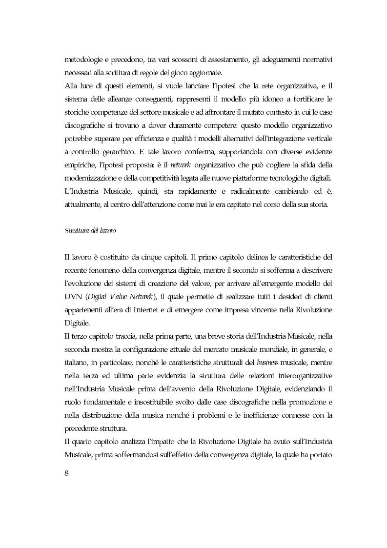 Anteprima della tesi: Convergenza digitale: un'analisi nel settore musicale, Pagina 2
