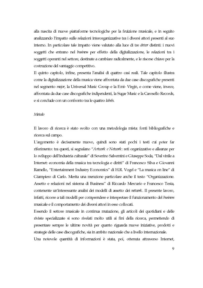 Anteprima della tesi: Convergenza digitale: un'analisi nel settore musicale, Pagina 3
