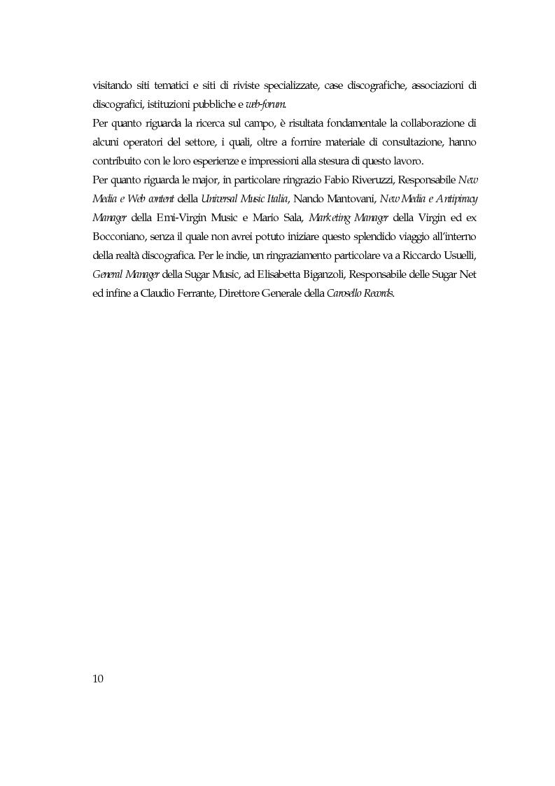 Anteprima della tesi: Convergenza digitale: un'analisi nel settore musicale, Pagina 4