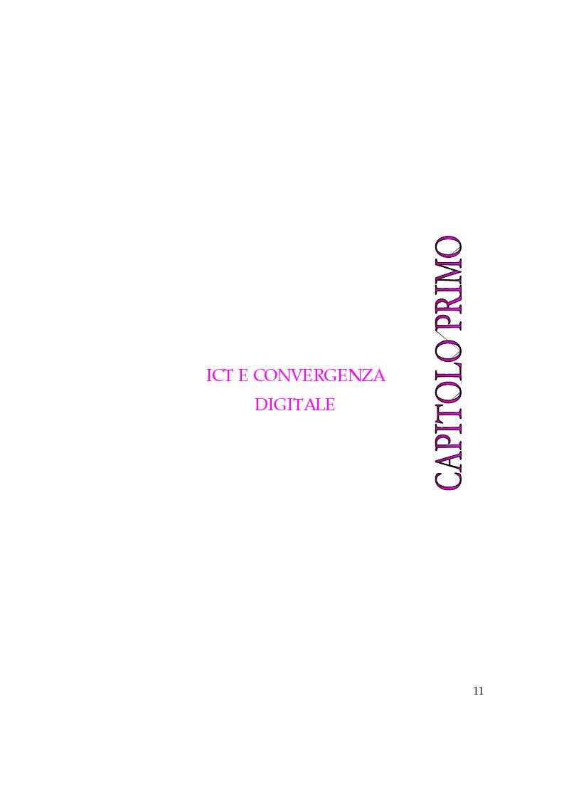 Anteprima della tesi: Convergenza digitale: un'analisi nel settore musicale, Pagina 5