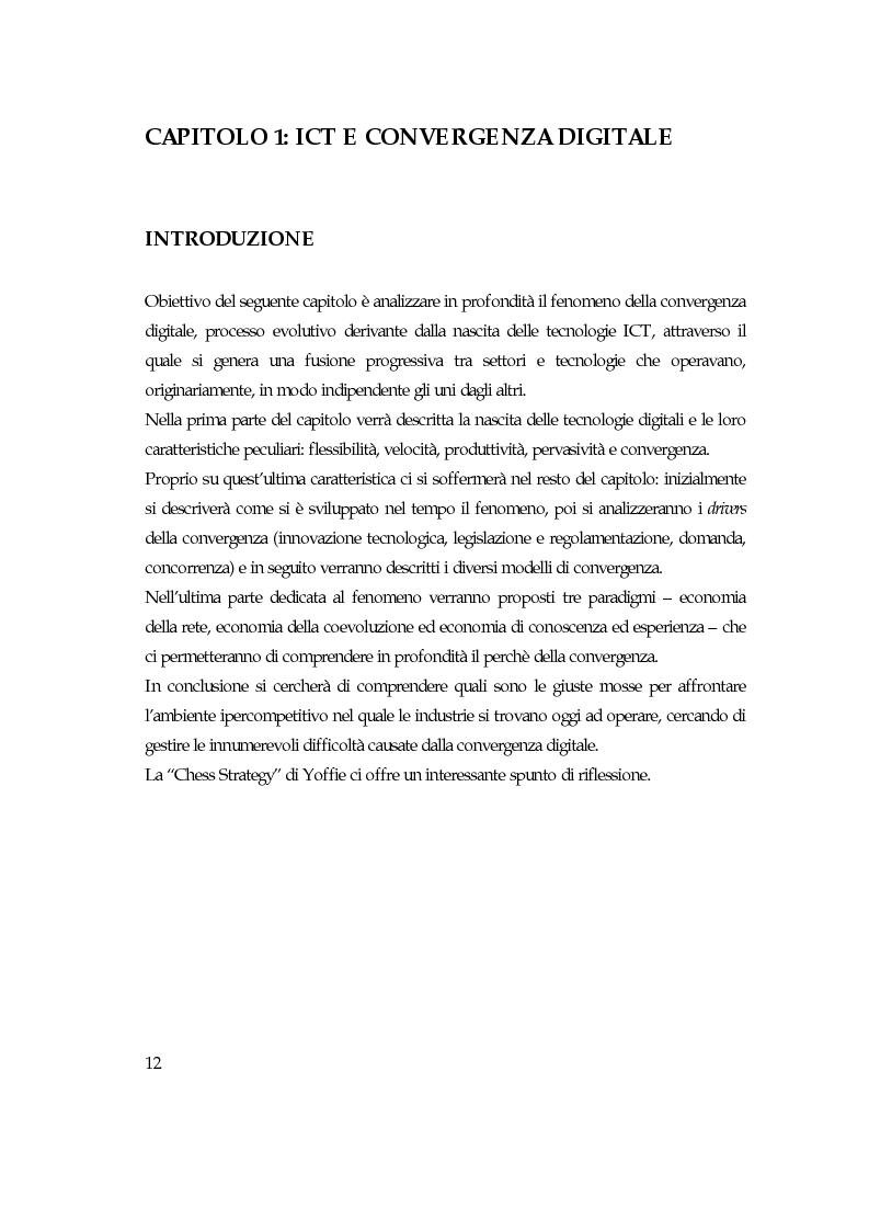 Anteprima della tesi: Convergenza digitale: un'analisi nel settore musicale, Pagina 6