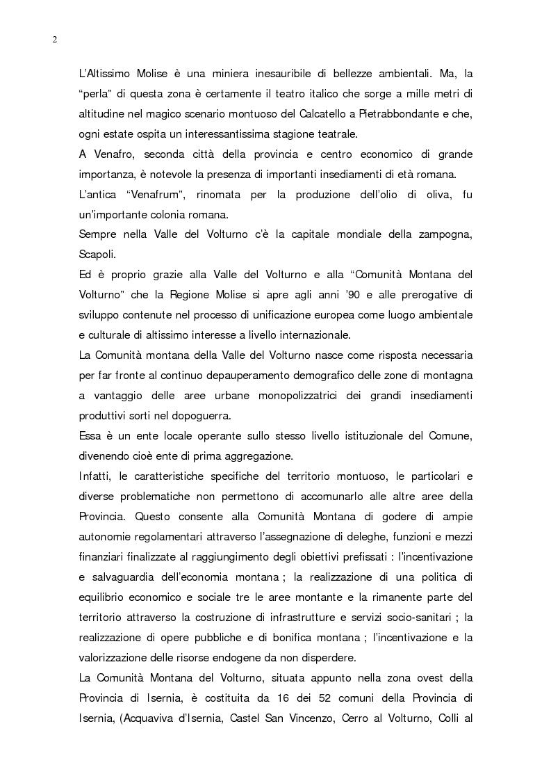 Anteprima della tesi: L'evoluzione della popolazione della Provincia di Isernia dal 1970, anno della sua costituzione, ad oggi, Pagina 2