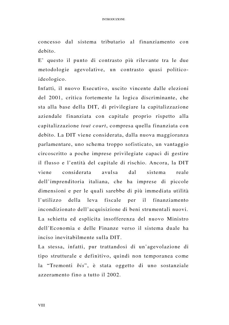 Anteprima della tesi: I profili antielusivi nella disciplina della ''Dual income tax''. Analisi di un microsistema, Pagina 4