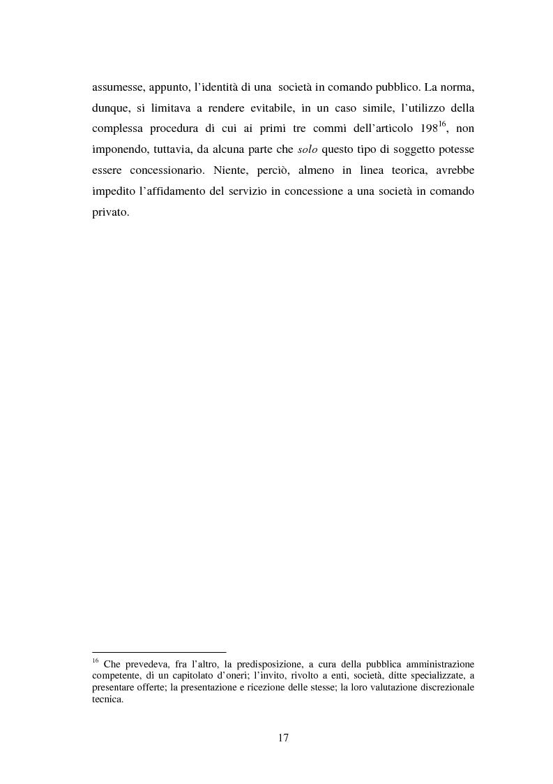 Anteprima della tesi: La piena attuazione del principio di libera concorrenza al settore delle telecomunicazioni, Pagina 14