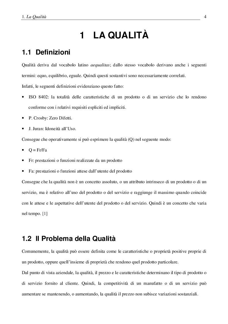 Anteprima della tesi: Certificazione del software: problemi e metodi, Pagina 5