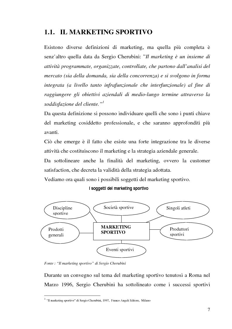 Anteprima della tesi: Gestione delle società di calcio professionistiche: confronto tra la Juventus F.C. ed il benchmark Manchester United, Pagina 7