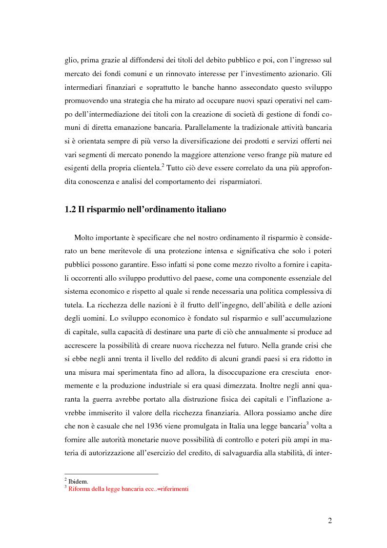 Anteprima della tesi: L'impatto di Internet sul risparmio, Pagina 11