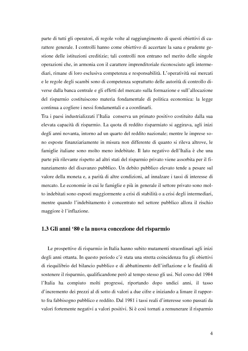 Anteprima della tesi: L'impatto di Internet sul risparmio, Pagina 13