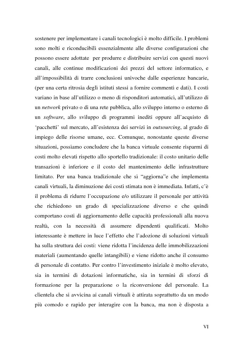 Anteprima della tesi: L'impatto di Internet sul risparmio, Pagina 6