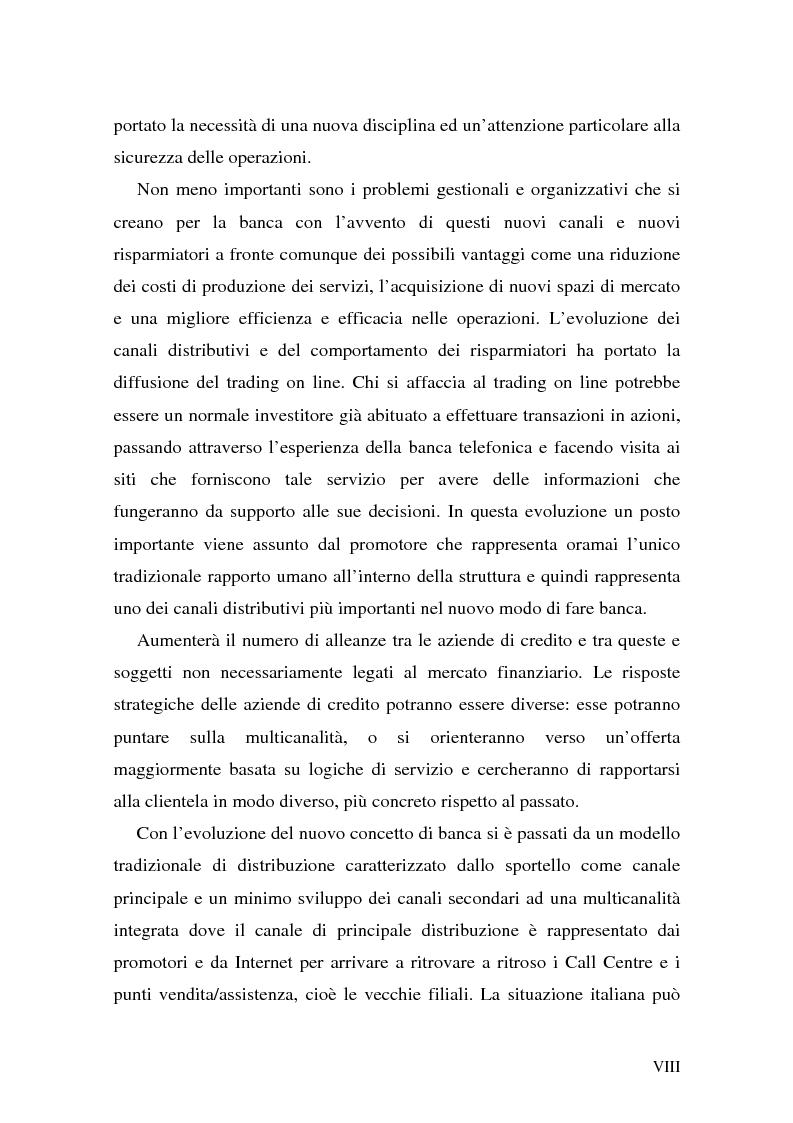 Anteprima della tesi: L'impatto di Internet sul risparmio, Pagina 8