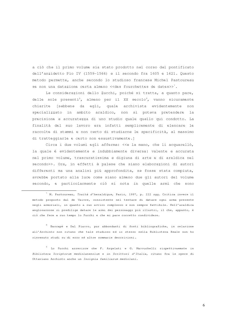 Anteprima della tesi: L'armoriale Archinto, Pagina 2