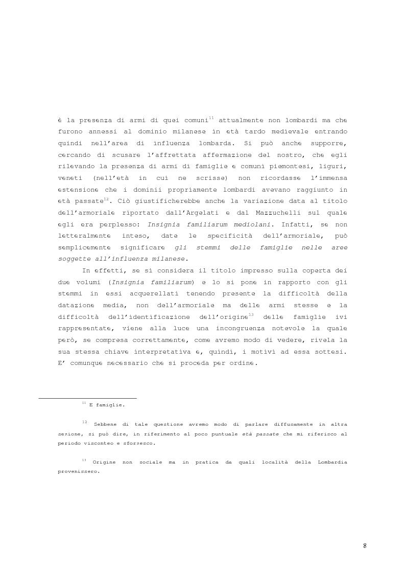 Anteprima della tesi: L'armoriale Archinto, Pagina 4
