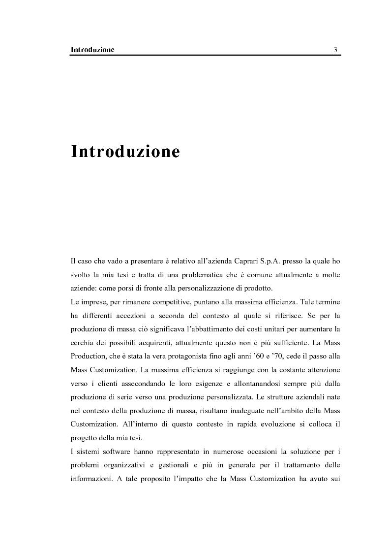 Anteprima della tesi: La configurazione di prodotto in ambiente Sap R/3: il caso Caprari, Pagina 1