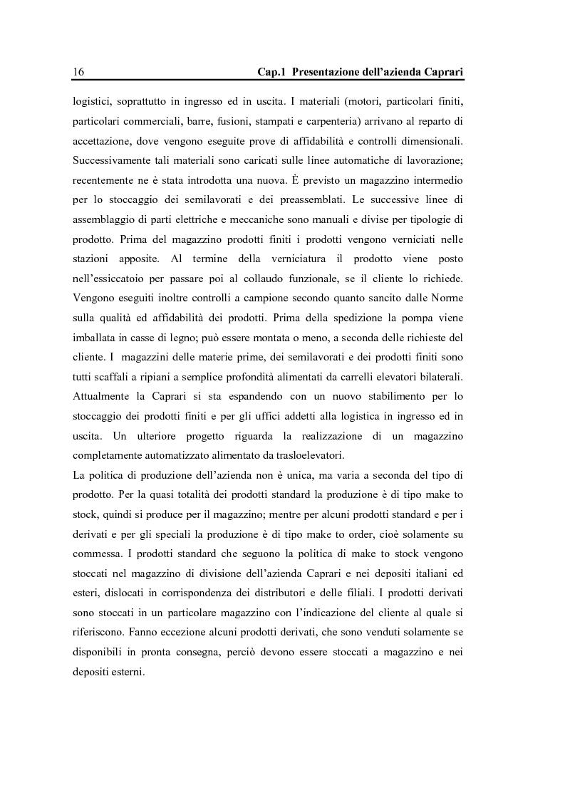 Anteprima della tesi: La configurazione di prodotto in ambiente Sap R/3: il caso Caprari, Pagina 12