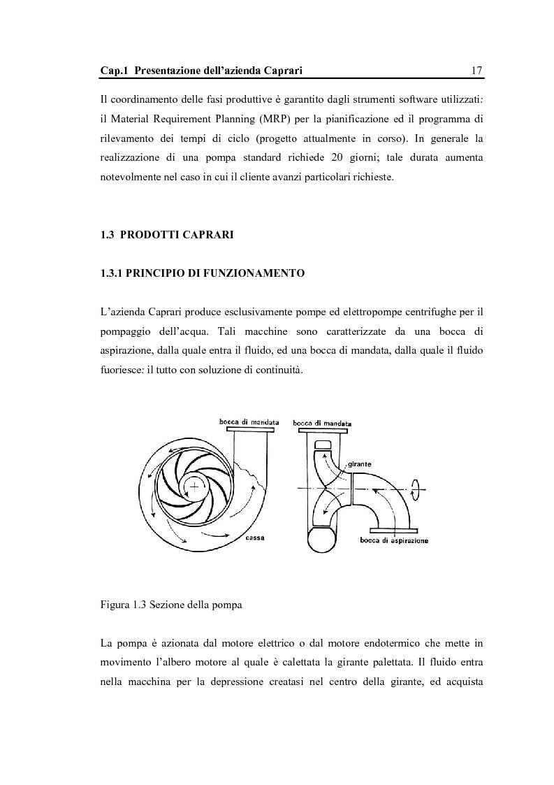 Anteprima della tesi: La configurazione di prodotto in ambiente Sap R/3: il caso Caprari, Pagina 13
