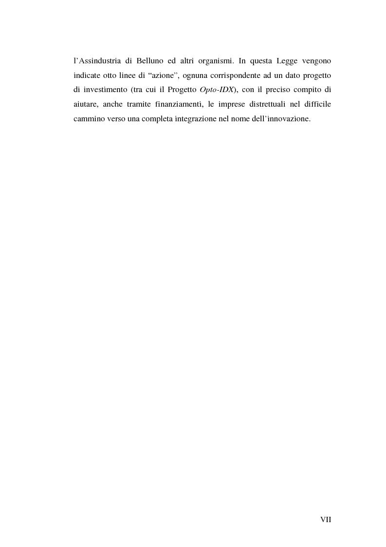 Anteprima della tesi: Le tecnologie informatiche come strumento di integrazione per le imprese. Il distretto digitale di Belluno e il progetto Opto-Idx, Pagina 7