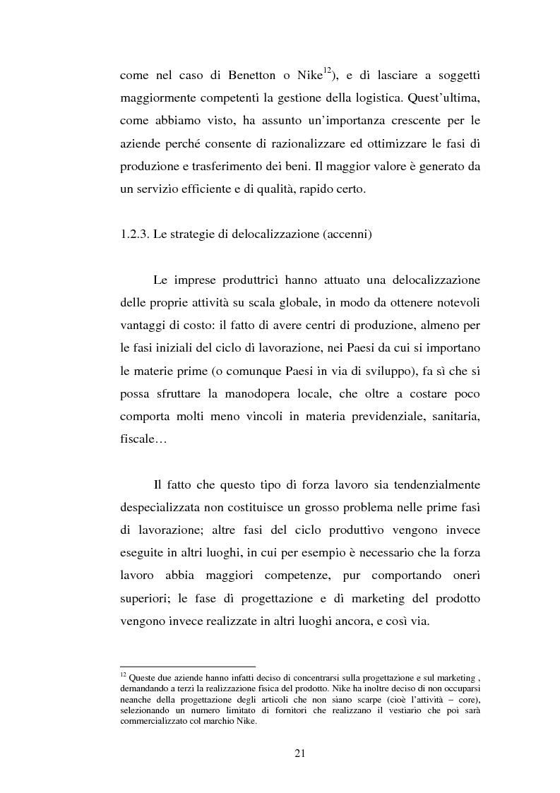 Anteprima della tesi: Analisi localizzativa di una base logistica a servizio del porto di Genova, Pagina 15
