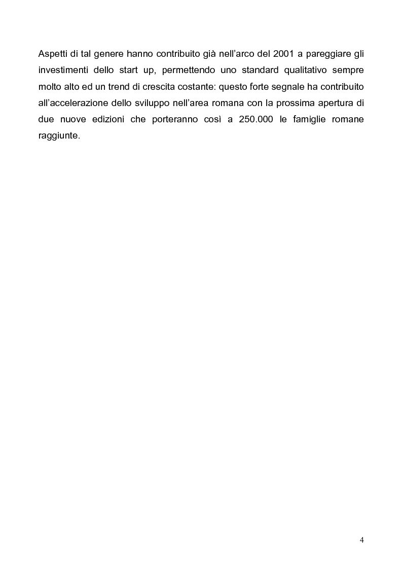 Anteprima della tesi: Customer satisfaction. Il caso aziendale: Promomedia Communication, Pagina 4