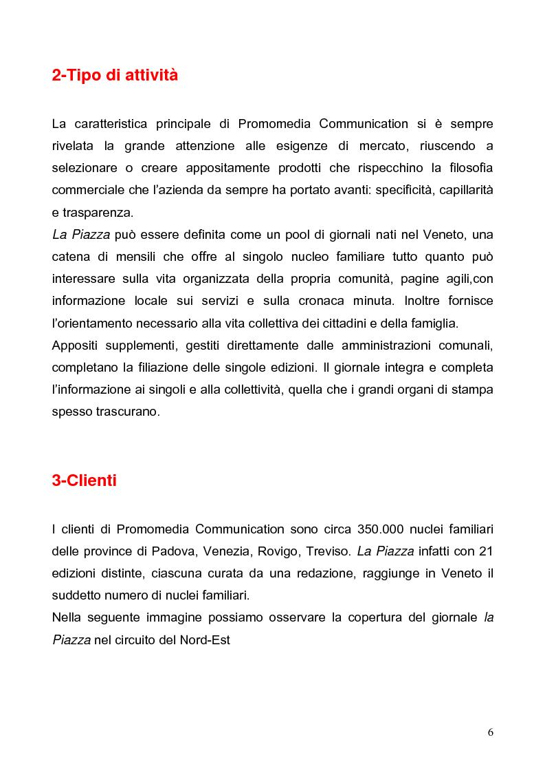 Anteprima della tesi: Customer satisfaction. Il caso aziendale: Promomedia Communication, Pagina 6