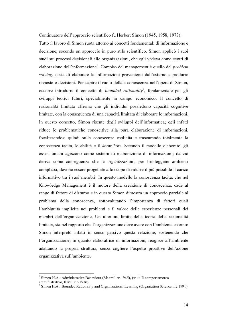 Anteprima della tesi: Una nuova via all'innovazione: creare e gestire la conoscenza grazie al knowledge management, Pagina 7