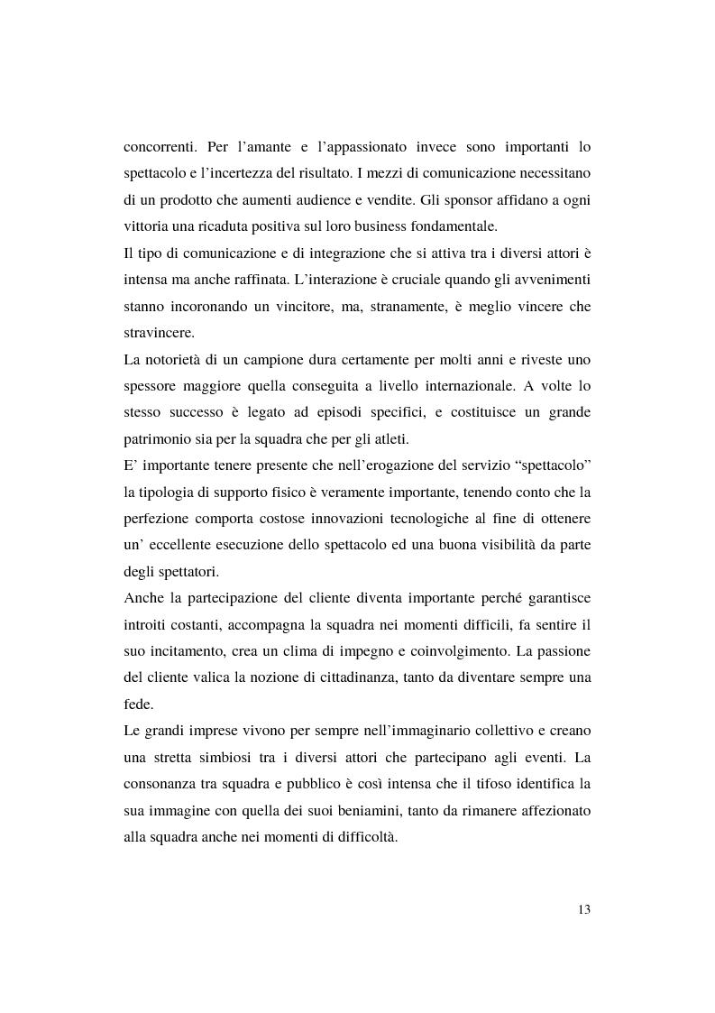 Anteprima della tesi: Misurazione e comunicazione nelle aziende sportive non profit. Il caso Polisportiva Paolo Poggi, Pagina 10