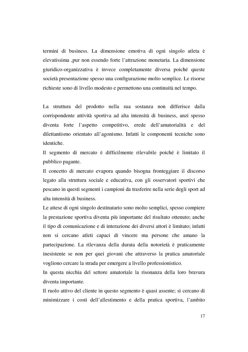 Anteprima della tesi: Misurazione e comunicazione nelle aziende sportive non profit. Il caso Polisportiva Paolo Poggi, Pagina 14