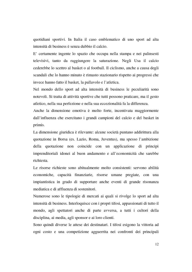 Anteprima della tesi: Misurazione e comunicazione nelle aziende sportive non profit. Il caso Polisportiva Paolo Poggi, Pagina 9