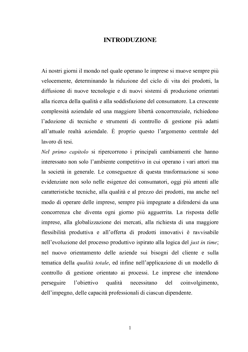 Anteprima della tesi: Il sistema di reporting: il caso Despar Calabria, Pagina 1
