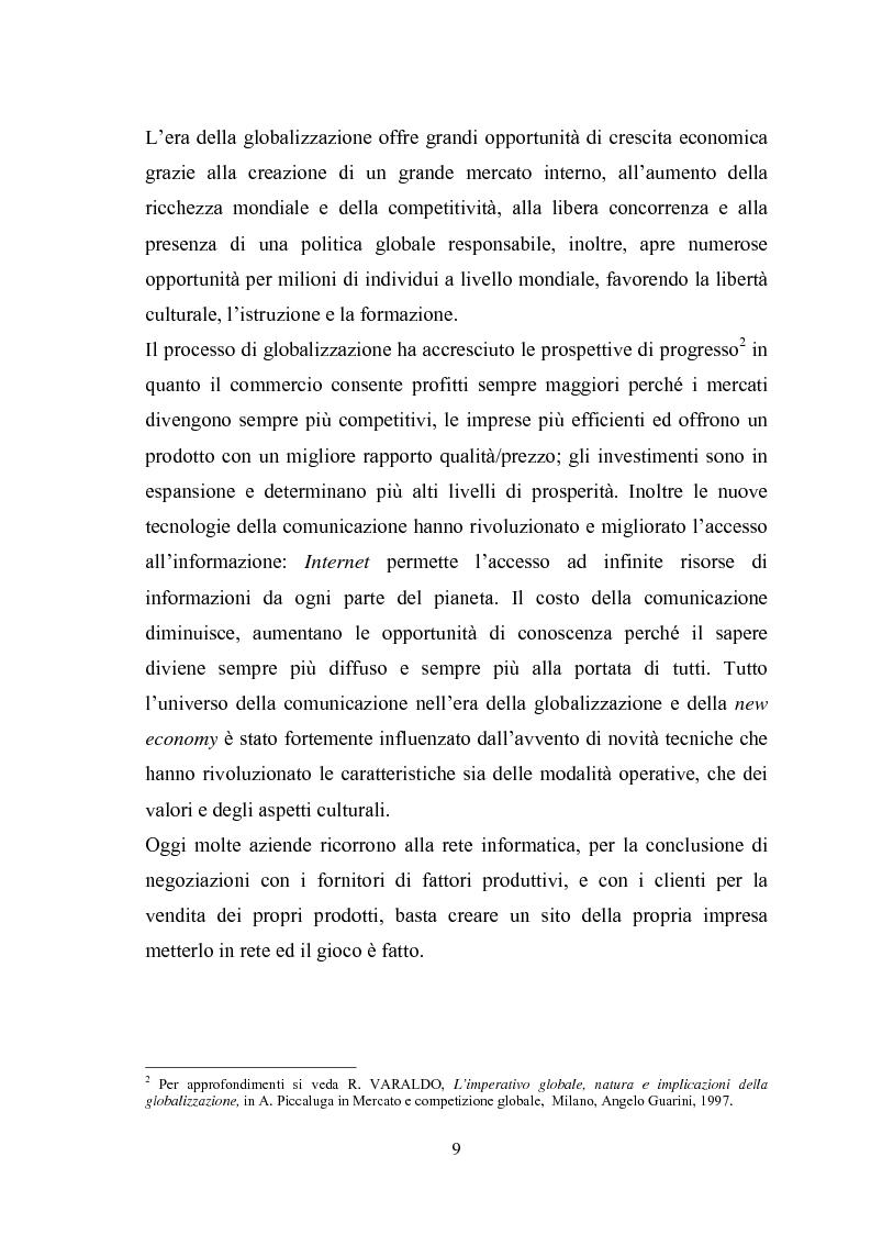 Anteprima della tesi: Il sistema di reporting: il caso Despar Calabria, Pagina 9