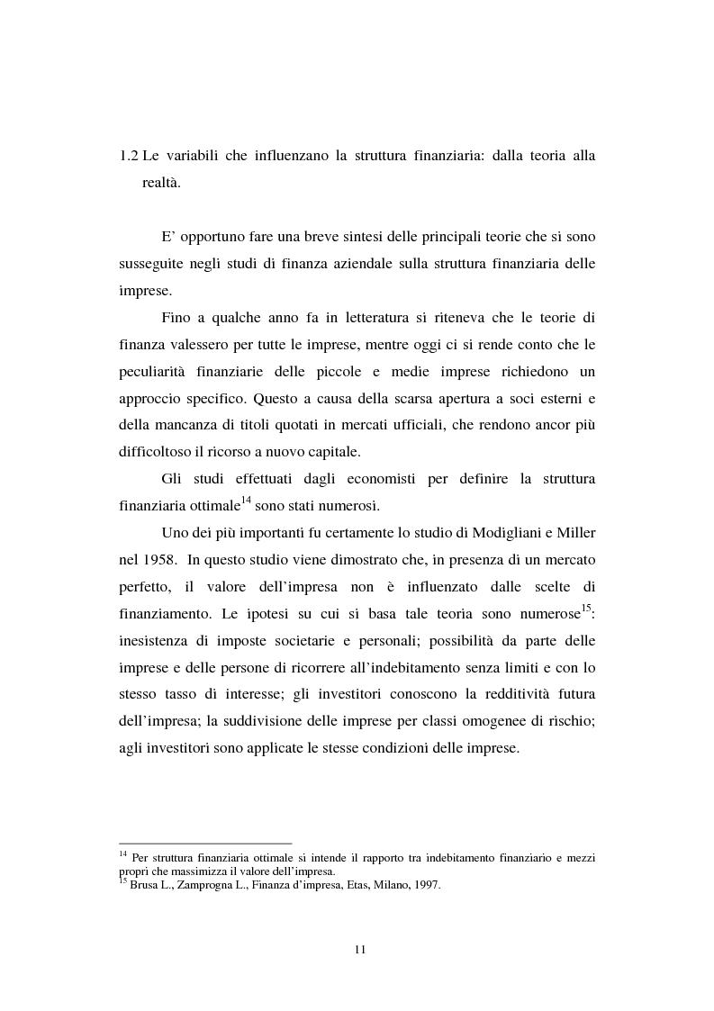 Anteprima della tesi: Gli effetti di Basilea II sulle piccole e medie imprese, Pagina 11