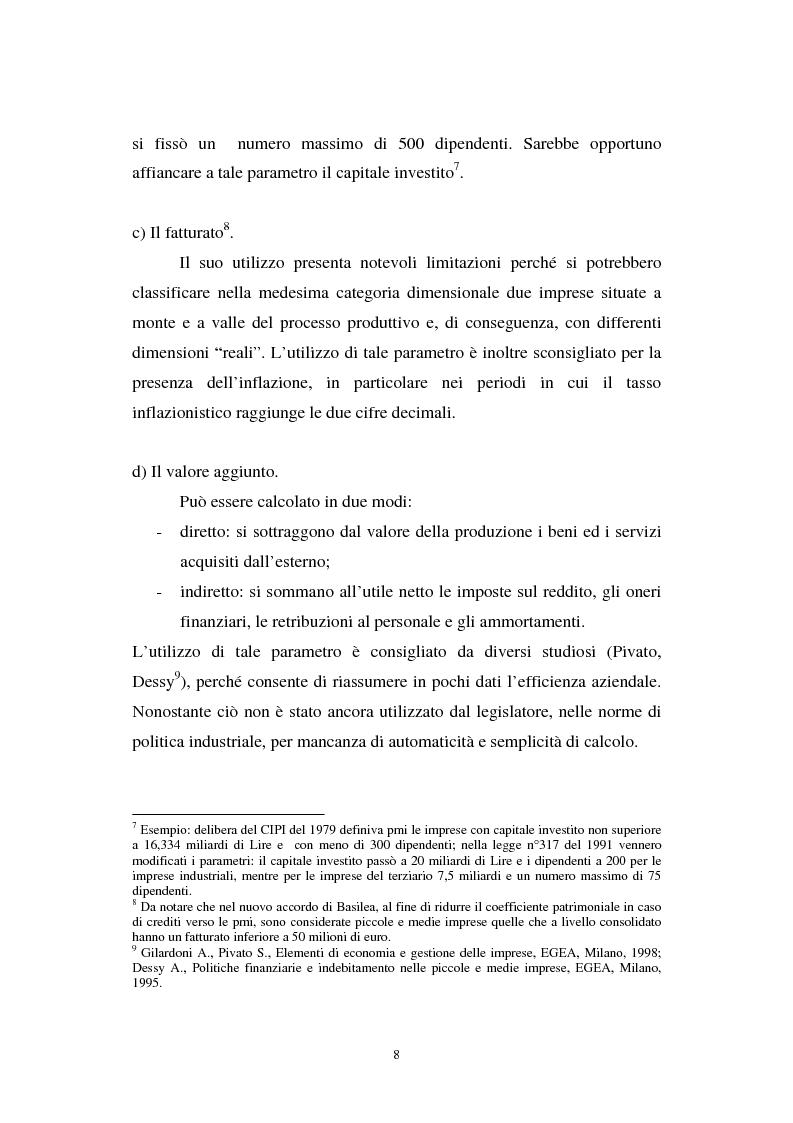 Anteprima della tesi: Gli effetti di Basilea II sulle piccole e medie imprese, Pagina 8