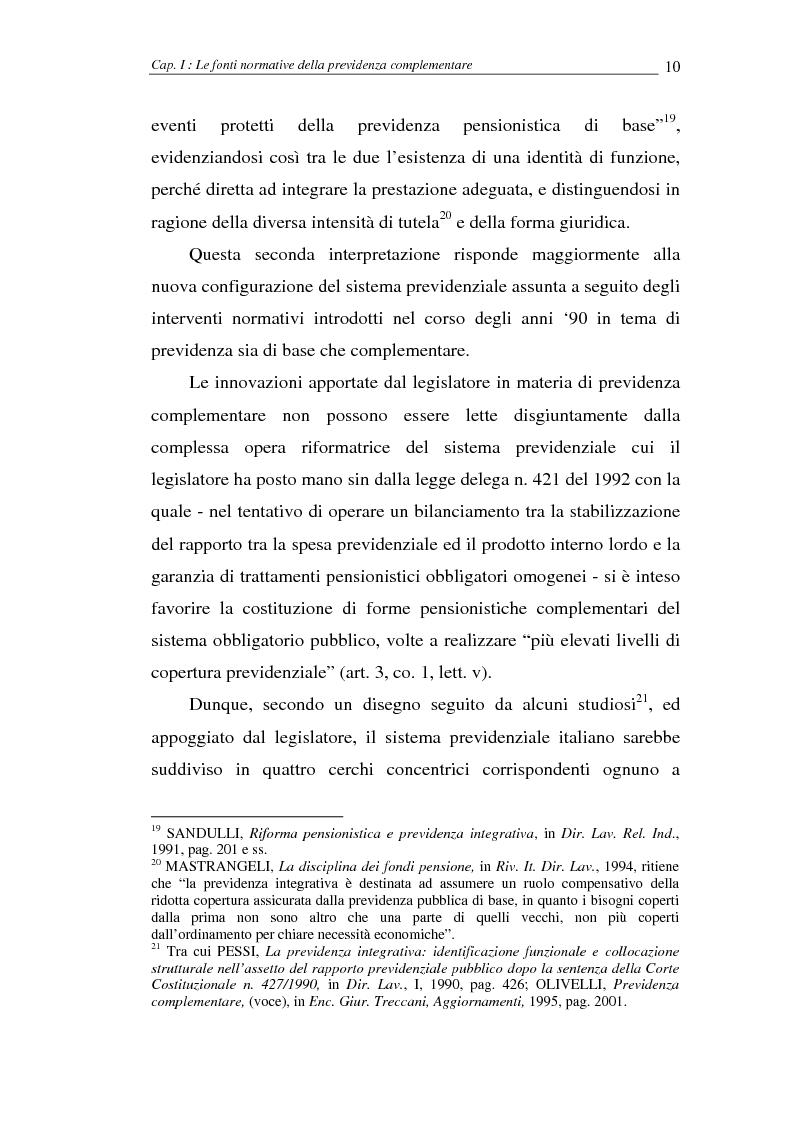 Anteprima della tesi: I fondi pensione, Pagina 10