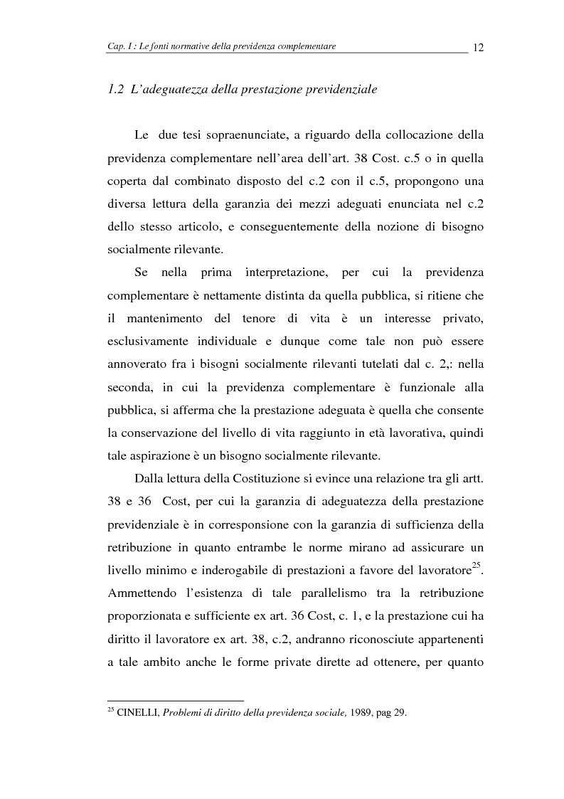 Anteprima della tesi: I fondi pensione, Pagina 12