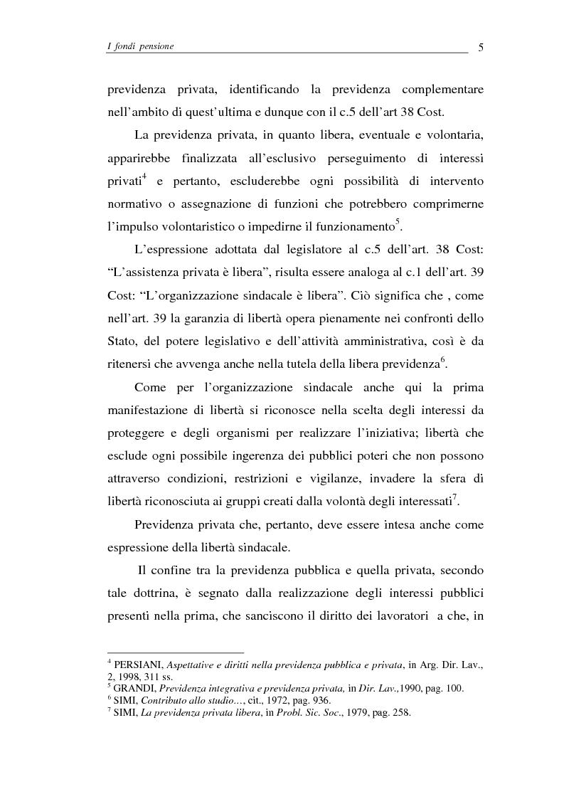 Anteprima della tesi: I fondi pensione, Pagina 5
