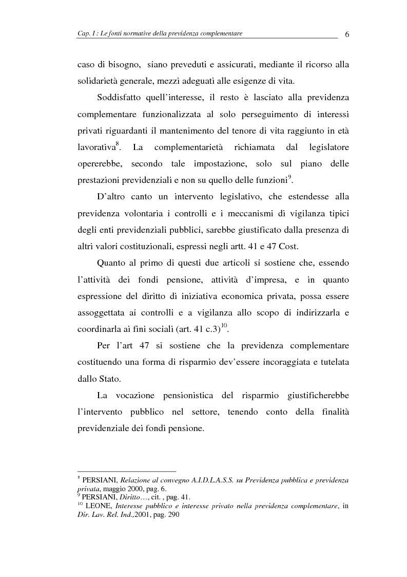 Anteprima della tesi: I fondi pensione, Pagina 6