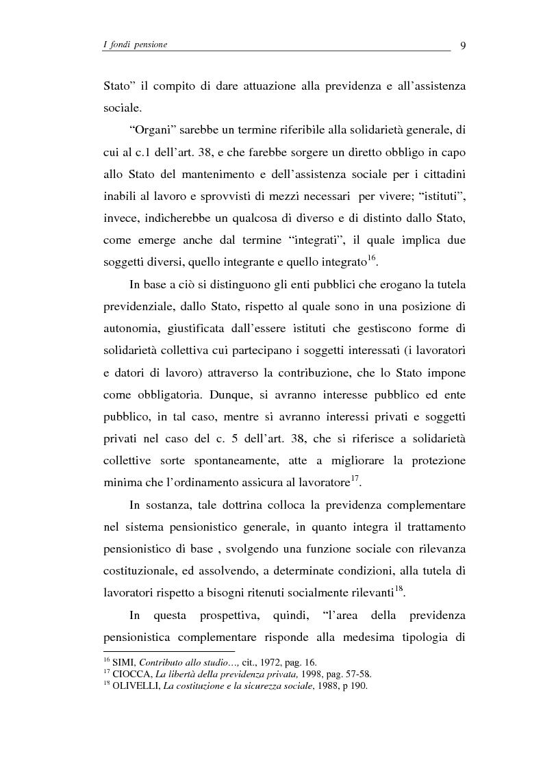 Anteprima della tesi: I fondi pensione, Pagina 9