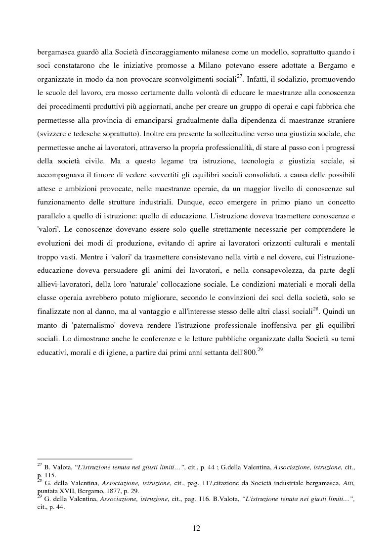 Anteprima della tesi: La Scuola Apprendisti della Dalmine S.A. dal 1937 al 1948, Pagina 12