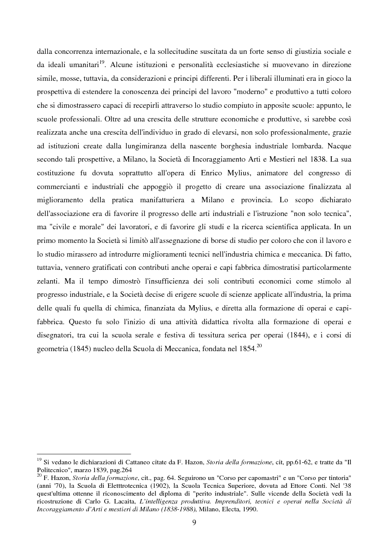 Anteprima della tesi: La Scuola Apprendisti della Dalmine S.A. dal 1937 al 1948, Pagina 9