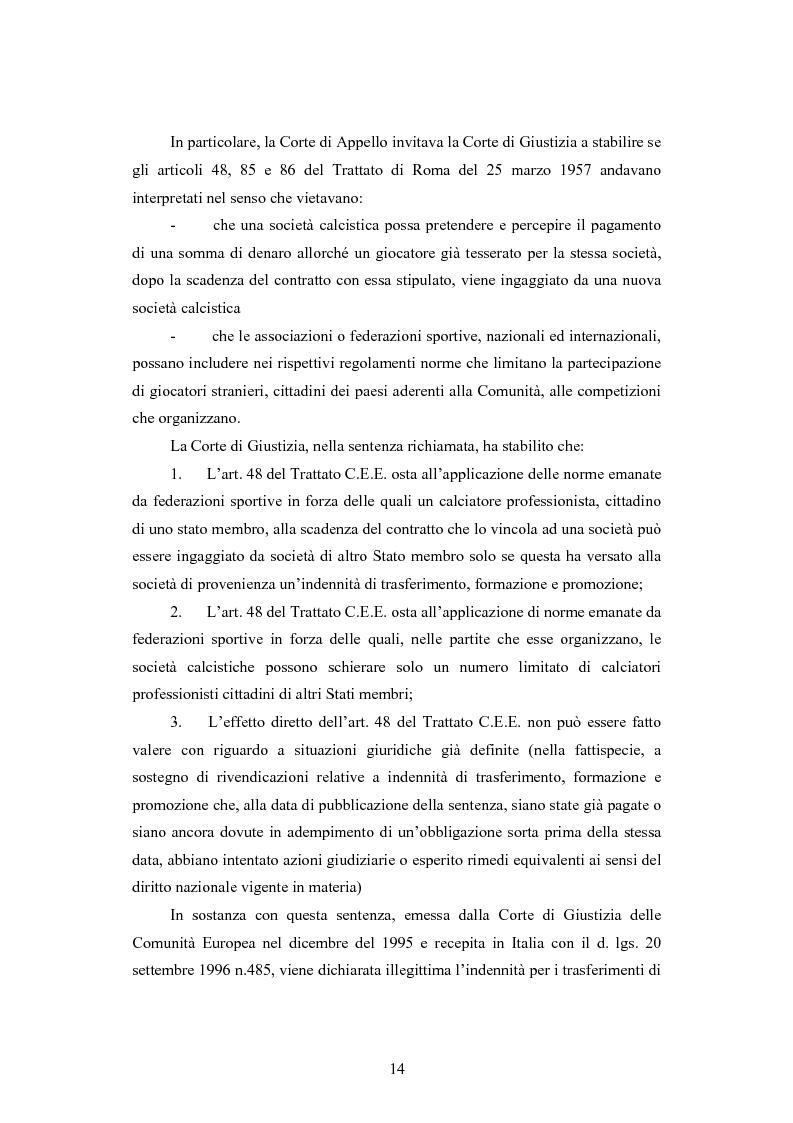 Anteprima della tesi: Problematiche contabili e di bilancio delle società calcistiche, Pagina 11