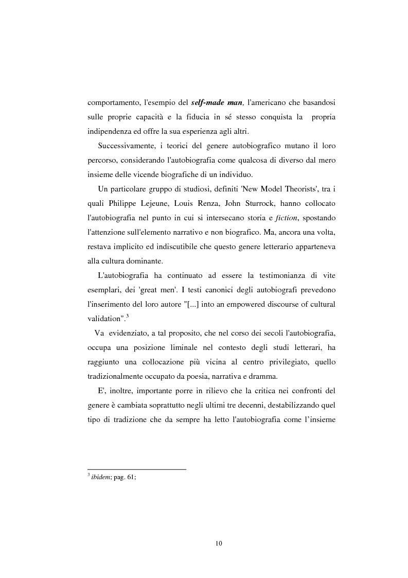 Anteprima della tesi: Indian Women's Autobiographies, Pagina 10